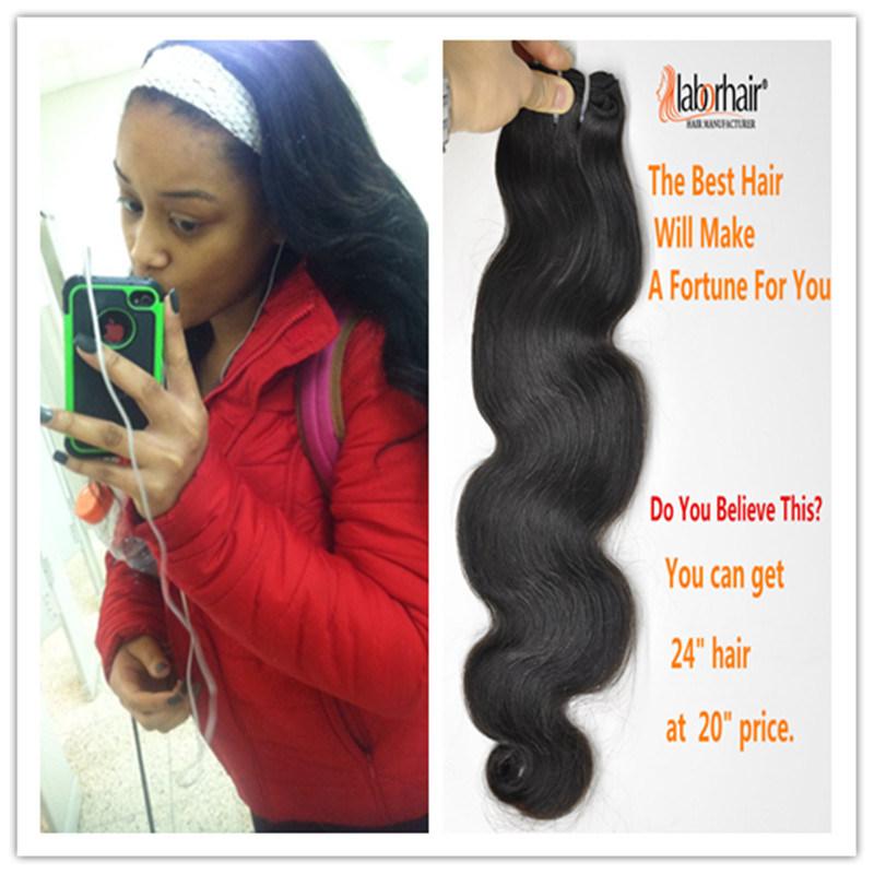 Natural Brazilian Virgin Hair 100% Human Hair Extension Lbh 037