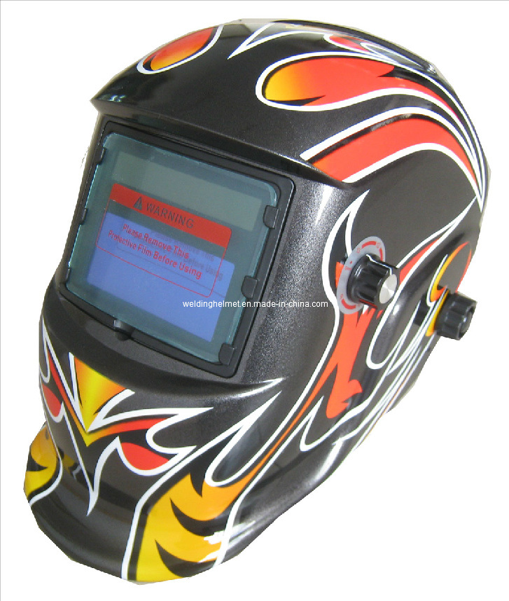Replaceable Battery/Big Size/En379/ANSI Welding Helmet (E1190TF)