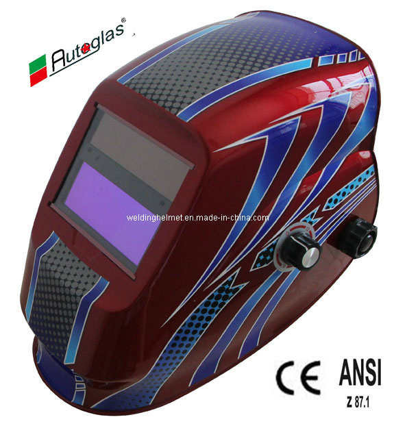 Cr2032 Lithium Battery/En379/High Quality Welding Helmet (D1190TC)