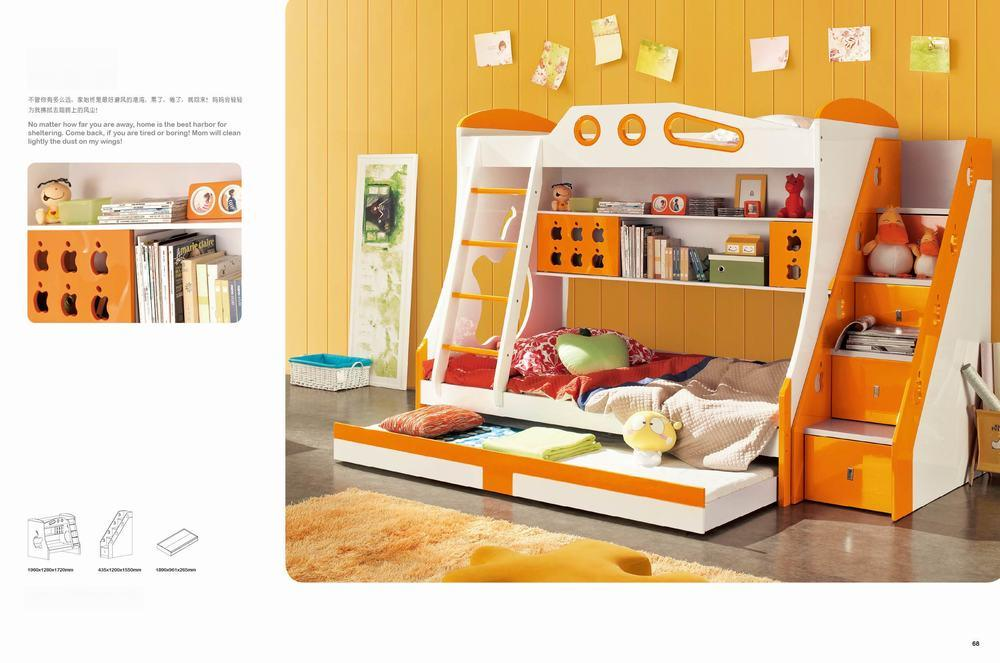 China Kids Furniture Kids Bunk Bed Jlx B 01 Photos