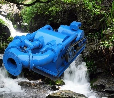 Pelton Impact Type Small Water Turbine Generator (10kw-100kw)