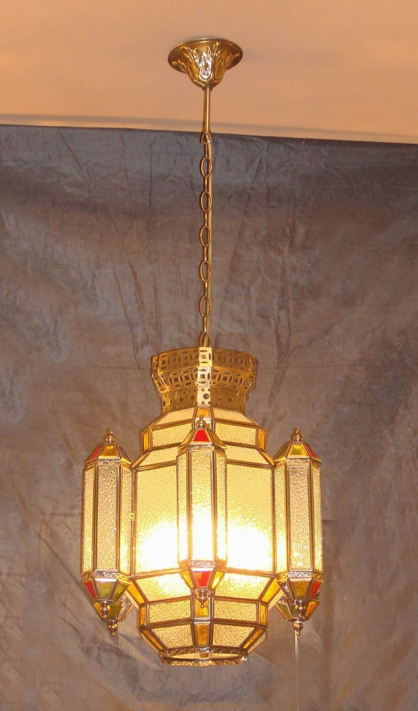 Brass Pendant Lamp with Glass Decorative 18958 Pendant Lighting