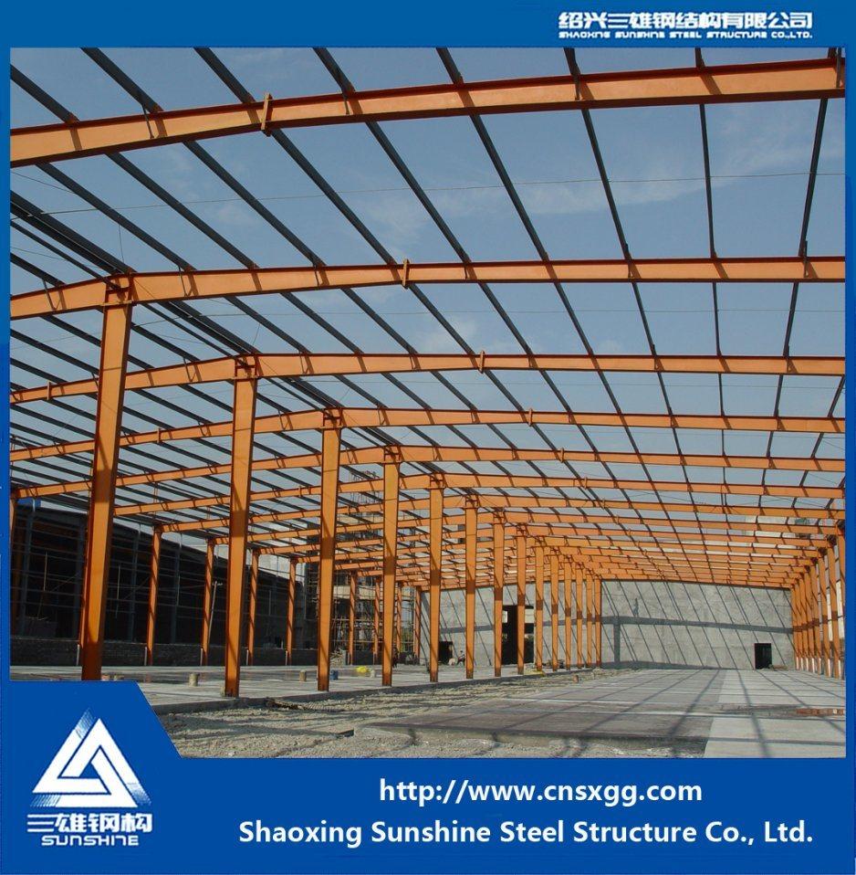 Light Steel Structure for Workshops