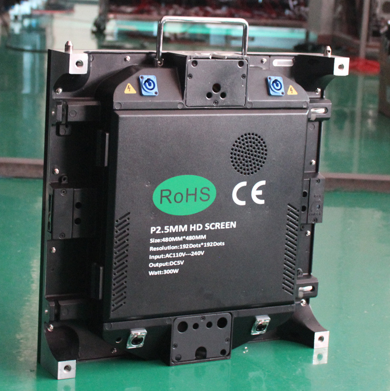 P2.5mm LED Screen for Fixed Projects (die-casting cabinet)