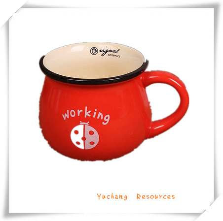 Promotion Gift for Coffee Mug/Coffee Cup with Handle (MC0042)