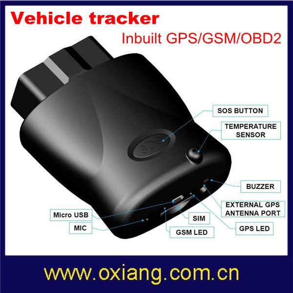 Newly Design Portable GPS Vehicle Tracker Inbuilt GPS/GSM/OBD 2