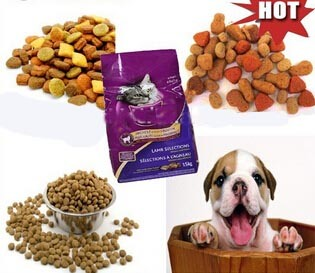 Automatic Extruded Dog Food Line