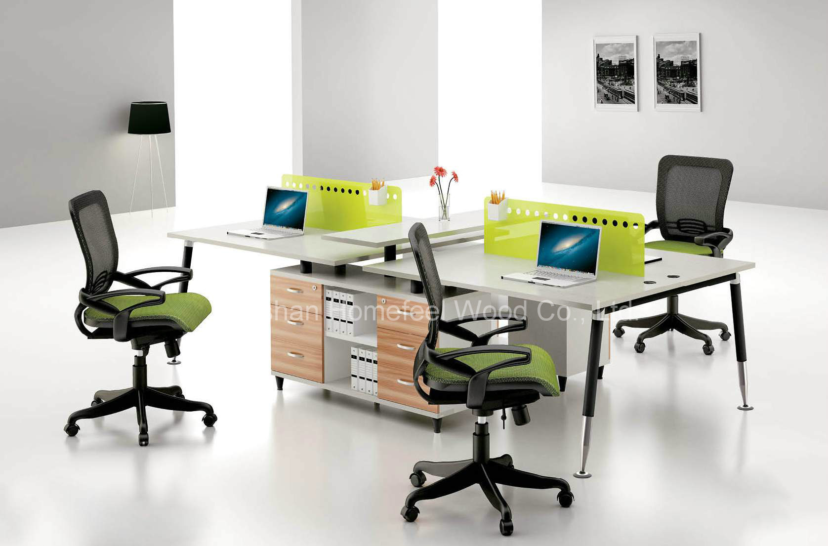 China small office area office workstation office for Desks for small areas
