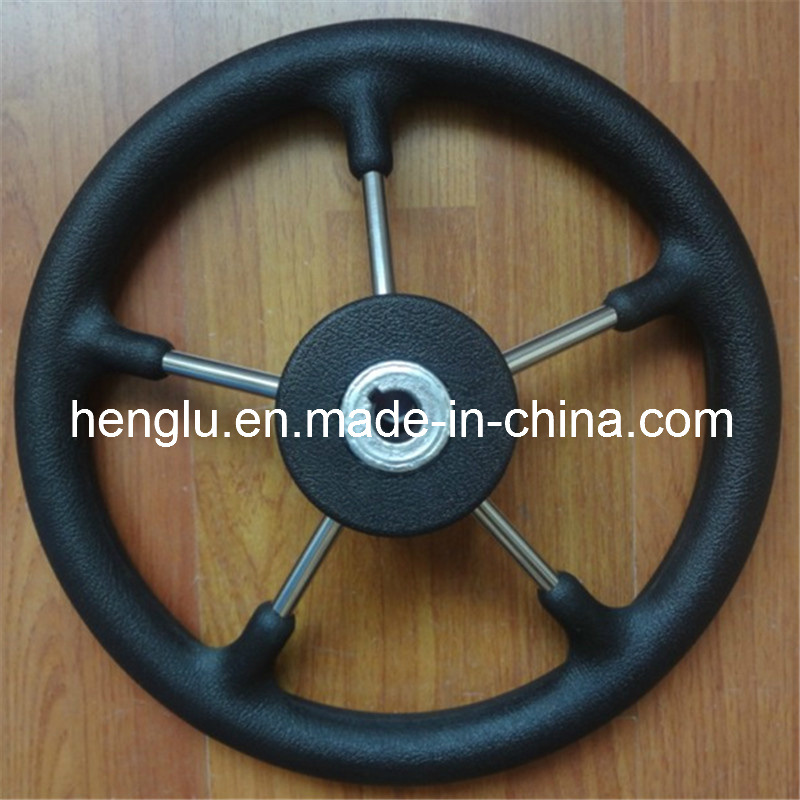 Hot 5 Spokes PU Yacht and Boat Steering Wheel
