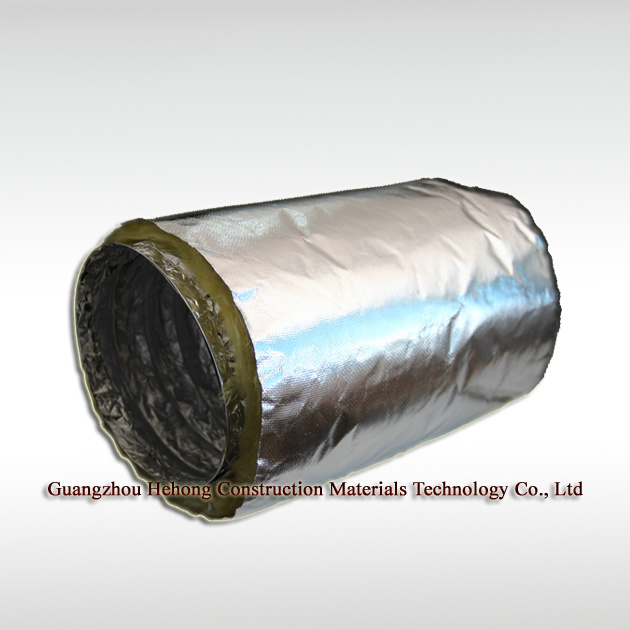 Aluminium Glass Fabric Insulated Flexible Duct (HH-C)