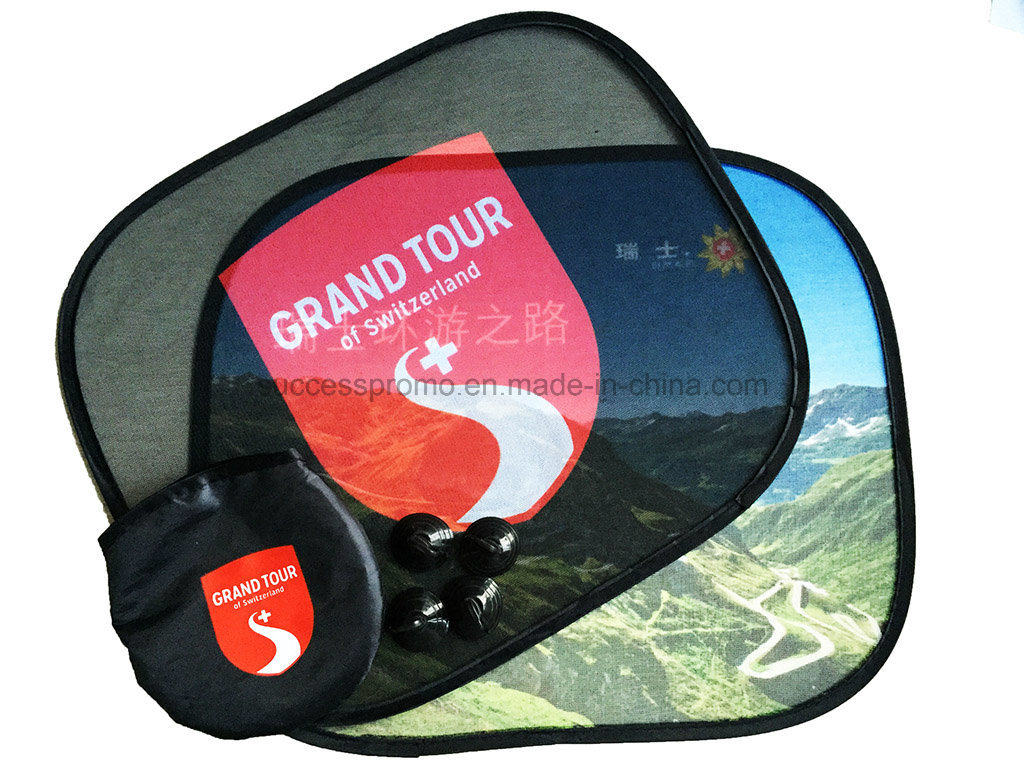 Custom Promotional Nylon Car Sunshade with Full Imprint