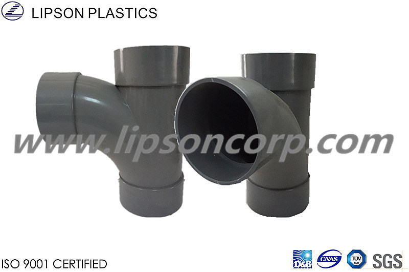 Lipson PVC Branch Tee Fittings Plastic Pipe Fitting