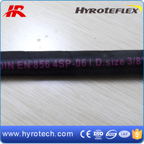 SAE 100r9 and DIN En856 4sp of Hydraulic Hose