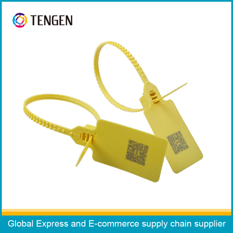 Plastic Security Sealing Strip with Customized Qr Code Printing Type 13