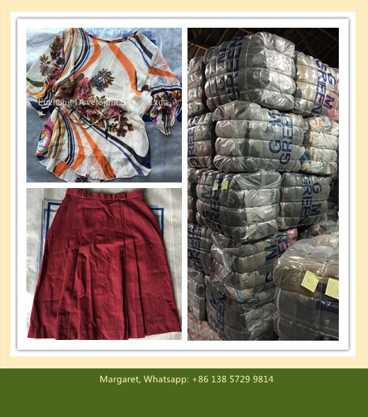 Second Hand Used Clothes to Africa Market in Bales Price