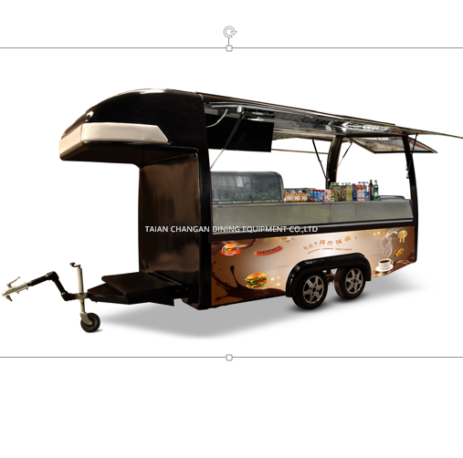 Solar Electric Food Trailer, Kitchen Trailer
