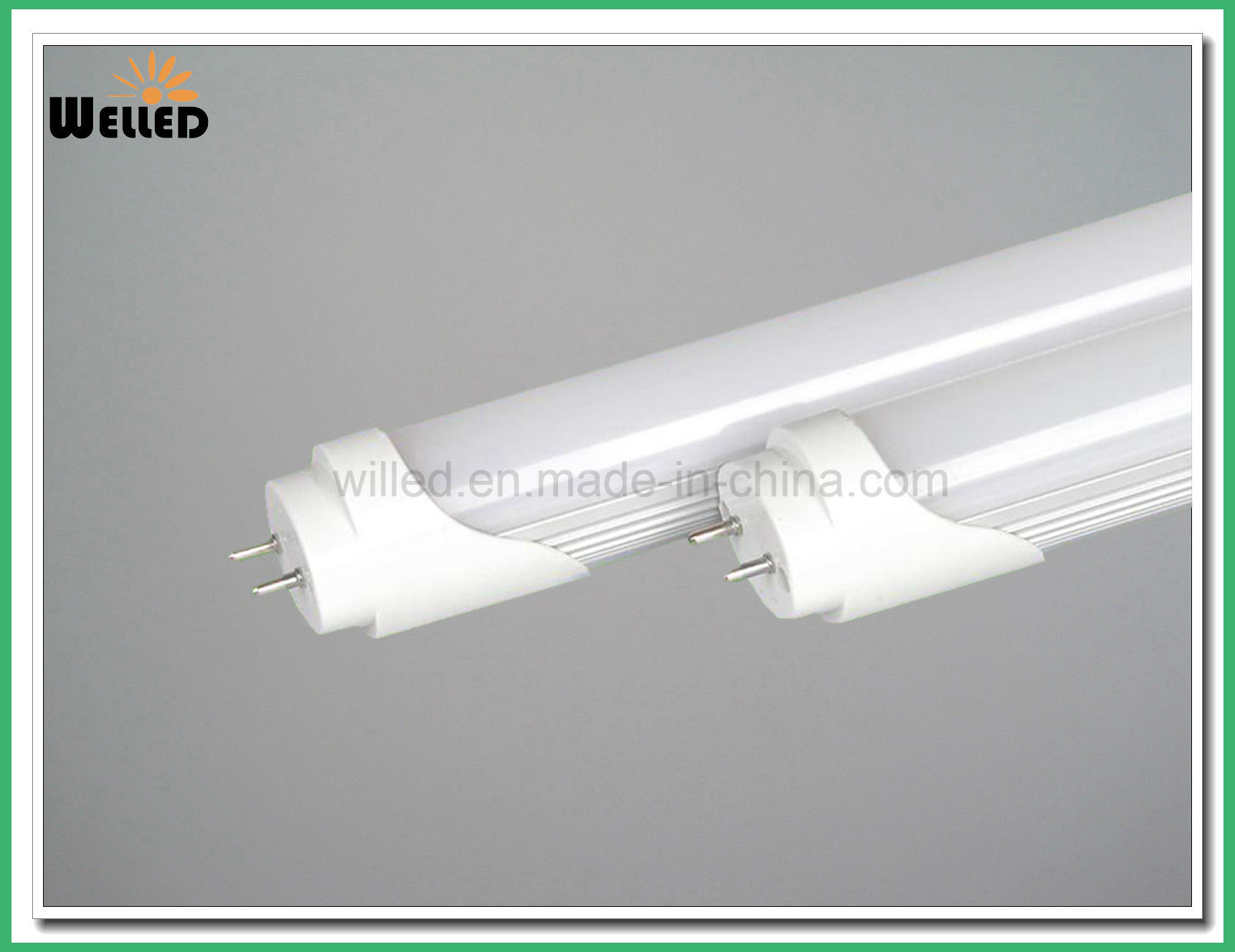 Aluminum Housing LED T8 Fluorescent Tube Light 1.5m 25W 30W with Frosted or Clear Cover