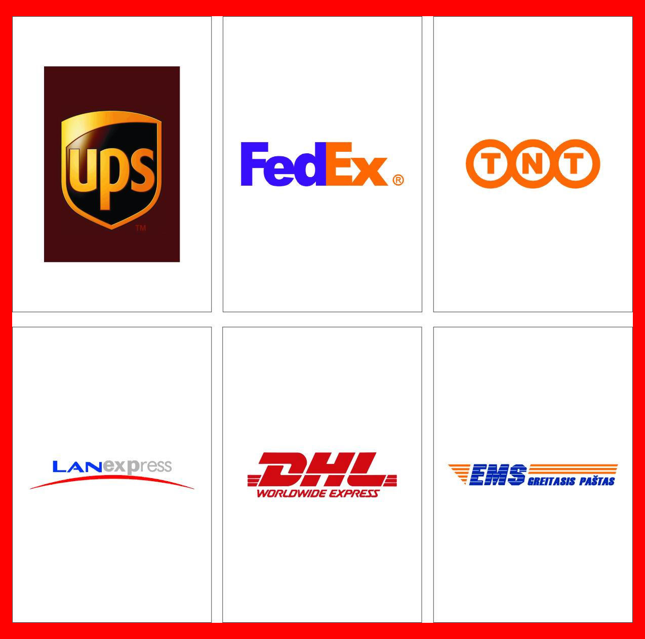 fedex ups and dhl Compare express shipping rates, transit times and track your shipments: local post, dhl, fedex, tnt and ups tracking.