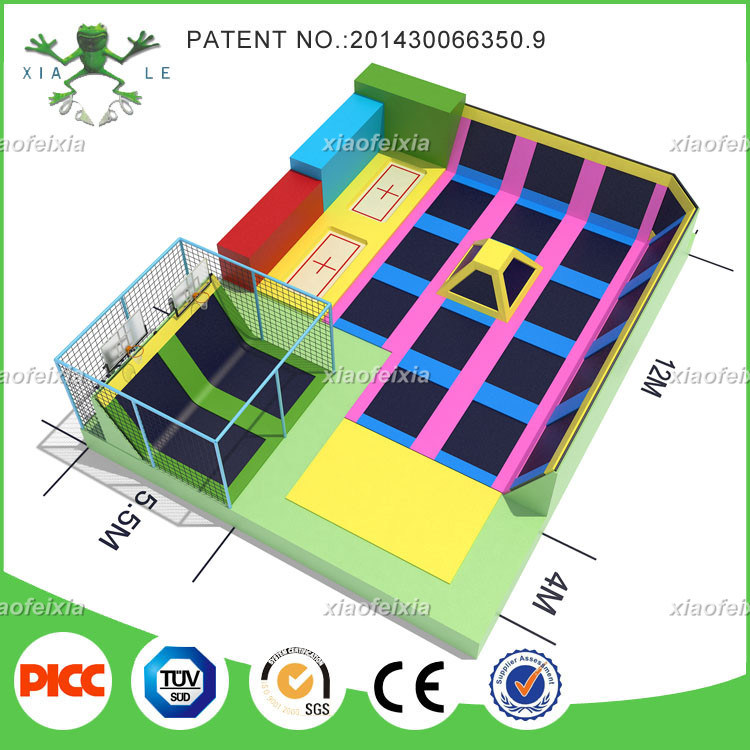 Professional Manufacturer Indoor Gymnastic Children Trampoline
