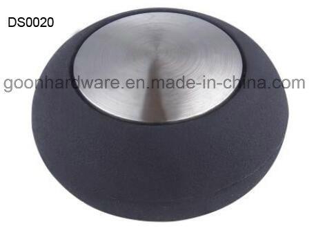 Zinc Door Stopper with Rubber Ds0020