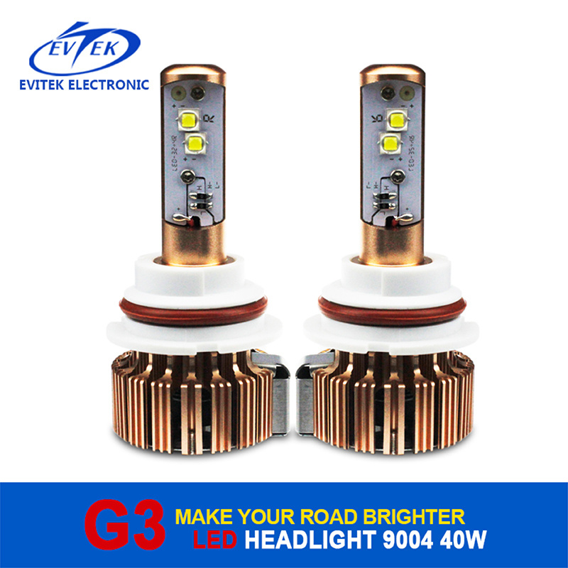 2017 Hot Sell Auto Headlight 40W 3600lm 9004/9007 H4 H13 H11 H7 9005 CREE Car LED Headlight Kit
