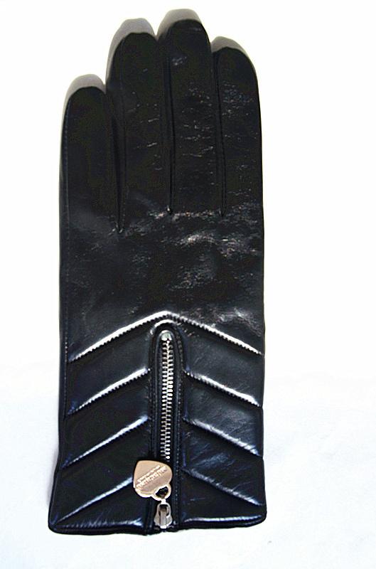 Lady Fashion Leather Gloves (JYG-23005)
