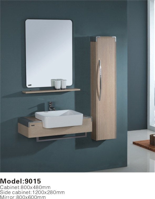 China Wall Hung Modern Bathroom Cabinet Vanity 9015