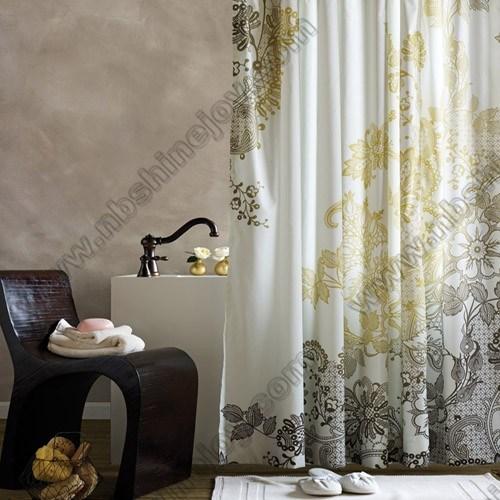 Polyester, PEVA, EVA, PVC Shower Curtain, Bath Curtain, Bathroom Curtain