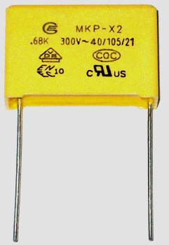 High Voltage Film Capacitor MKP-X2 300VAC