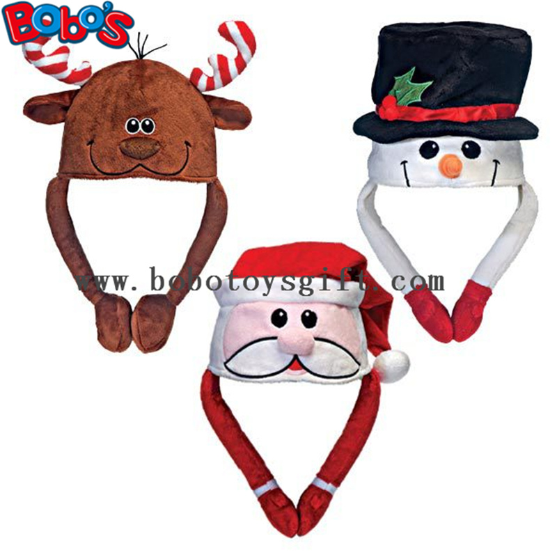 Soft Plush Warm Winter Cap Animal Party Hat Christmas Hat