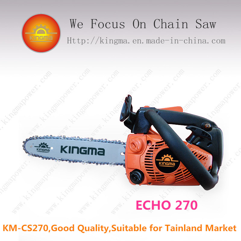 "27cc Gas Chain Saw with 12"" 3/8"" Bar and Chain"