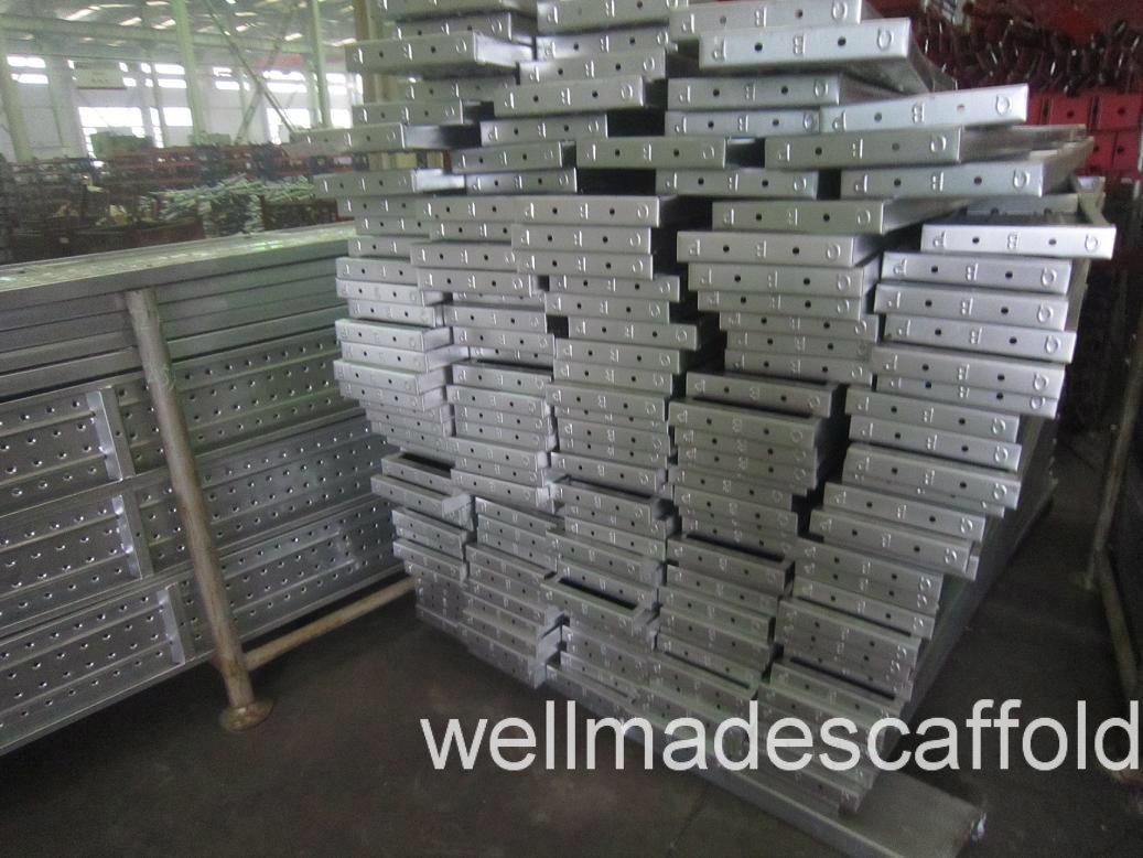 Steel Scaffold Planks : China scaffold walking board steel platform scaffolding