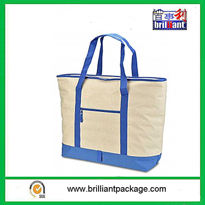 Custom Promotional Ice Bag 600d Beach Tote Thermal Lunch Walker Cooler Bag