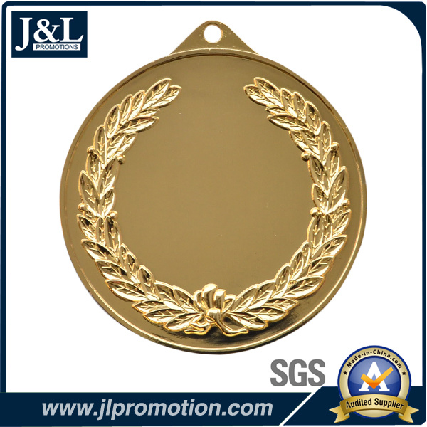 Shiny Gold High Quality Customer Design Medal