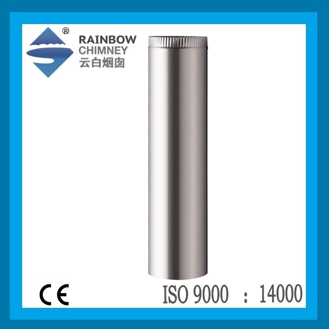 Single Wall Straight Pipe for Chimney Fireplace with Ce Certificate