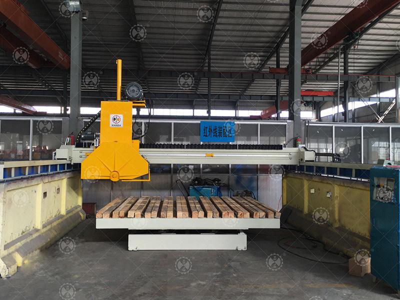 Wkq-1200 Granite and Marble Stone Bridge Block Cutting Machine