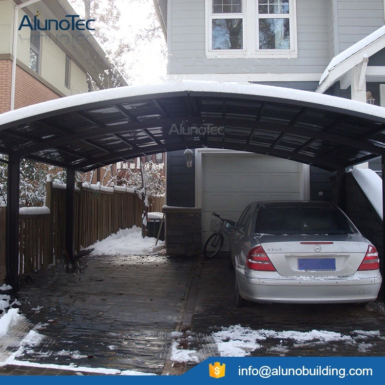 Modern Car Parking Outdoor Double Carport