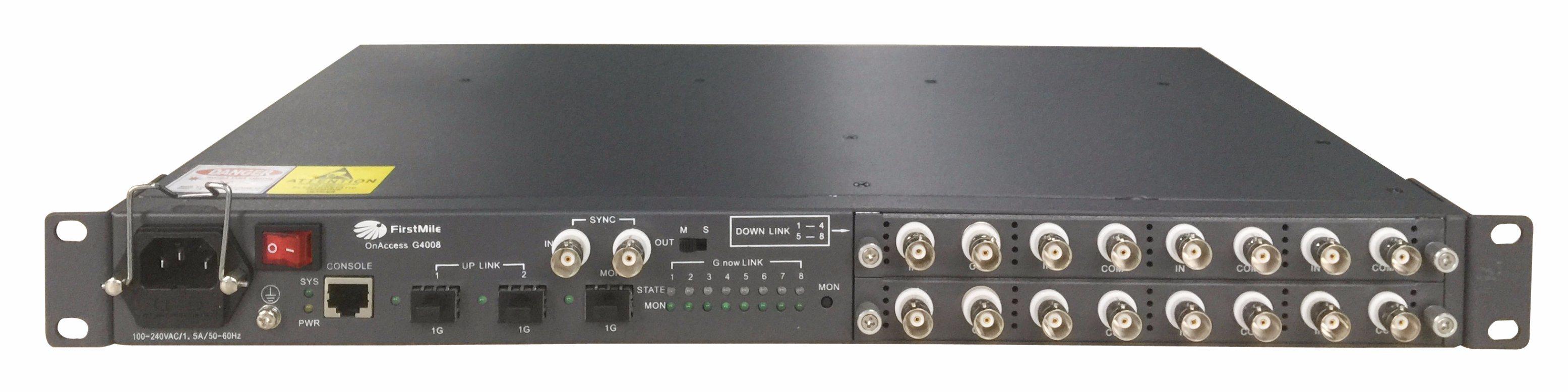 IP Camera Transmitter Eoc Ethernet Over Coax Converter
