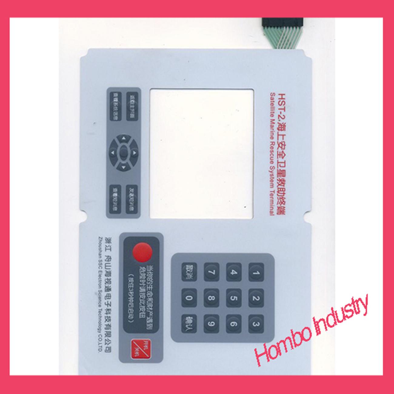 Customizing Tactile Shielding NEMA -4 Waterproof Membrane Switch