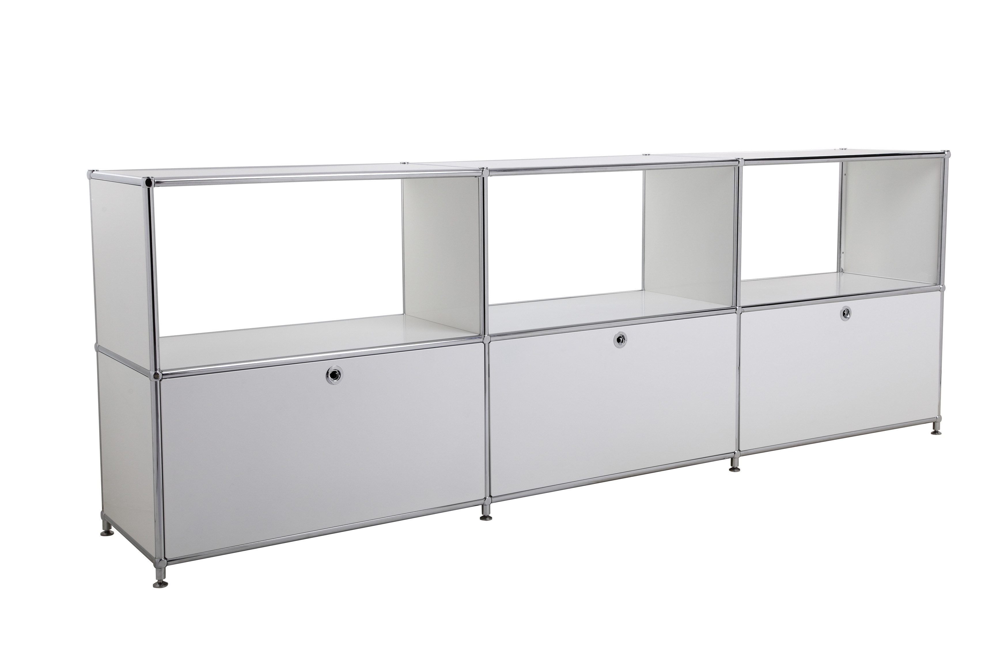 Modern Modular Office Storage Bookcase Steel Transcube Modular Filing Cabinet