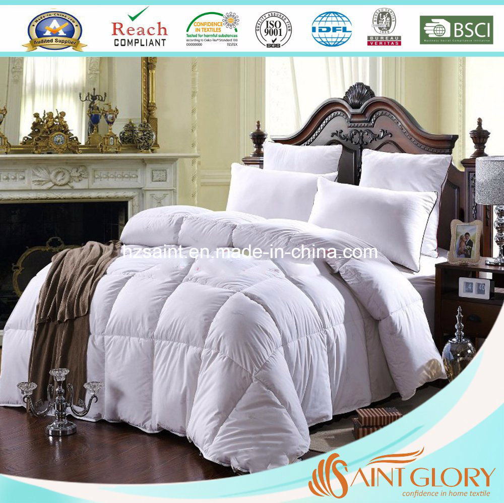 China Supplier Winter Season Microfiber Firm Filling Polyester Comforter