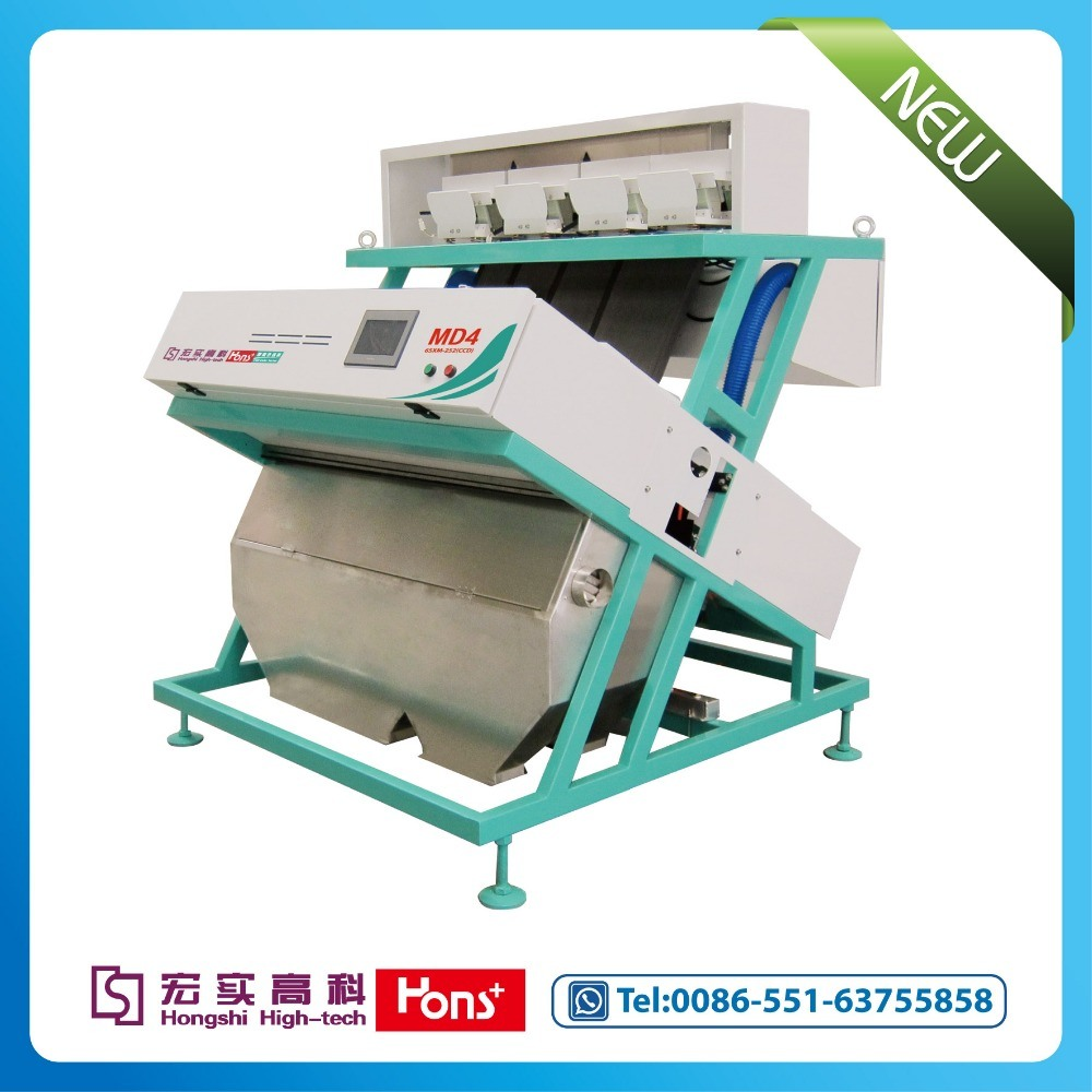 Hot Sale! ! ! Hons+ High Quality New Intelligent CCD Rice Color Sorter