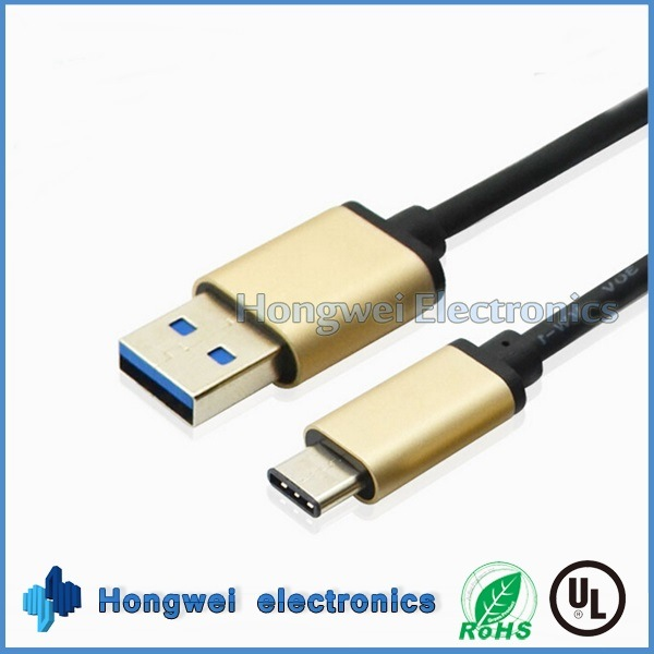 High Speed 3 a USB 3.1 Type-C to a Male USB 3.0 Cable for Android Phone