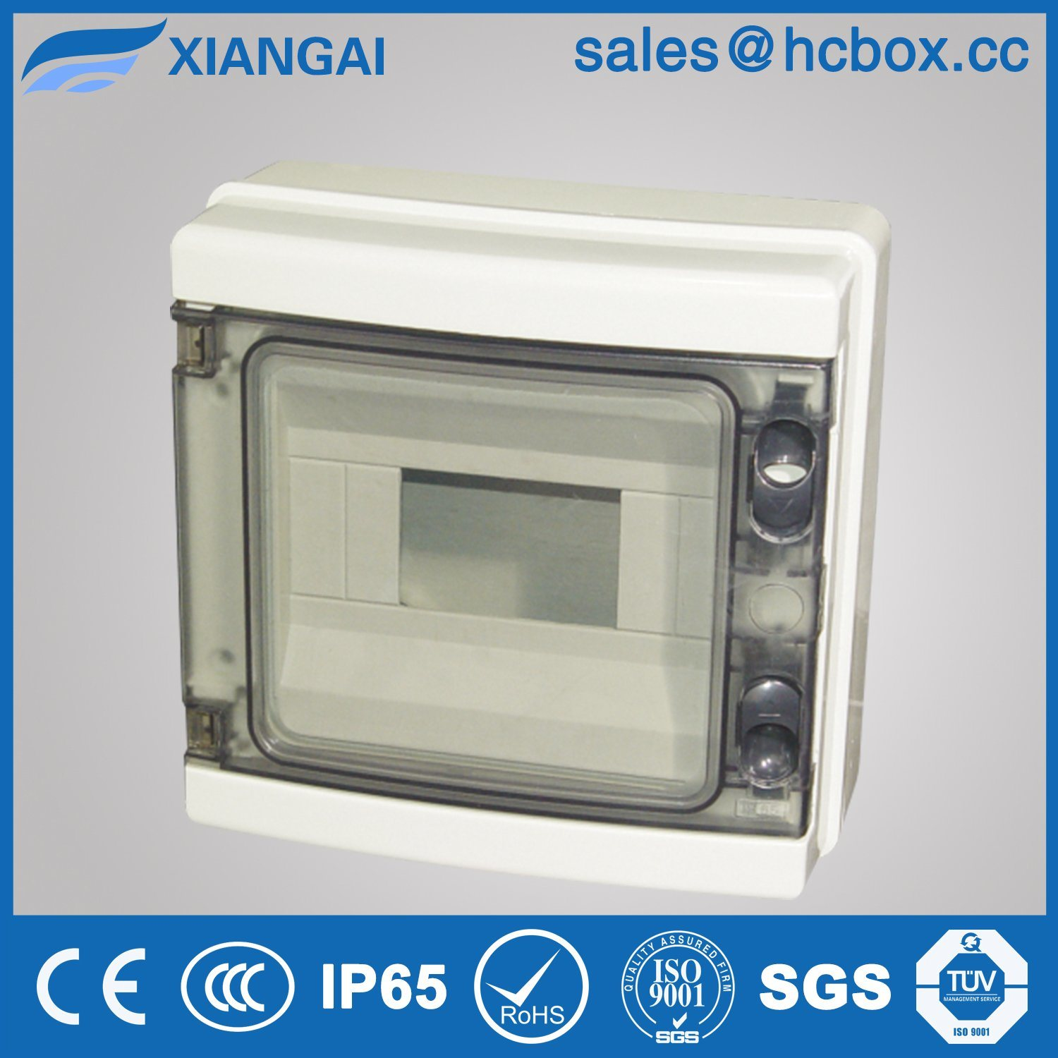 Hc-Ha 8ways Waterproof Distribution Box Switch Box MCB Box IP65box