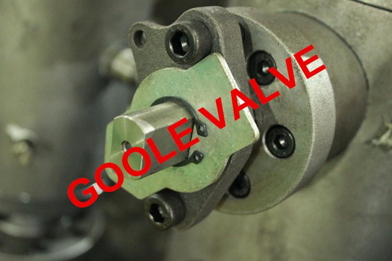Flanged Double Block Bleed Trunnion Dbb Ball Valve (DBBQ347F)