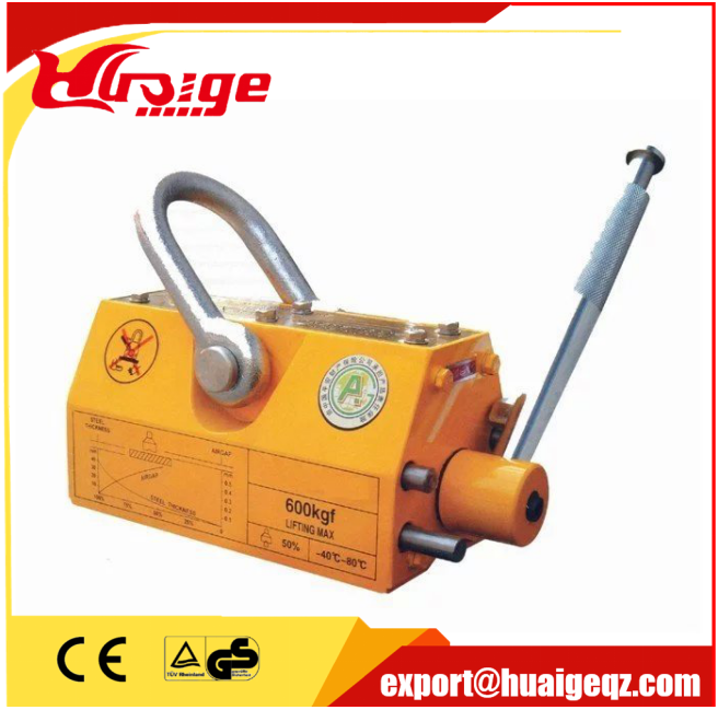Manual 2000kg Permanent Lifting Lifter Magnet