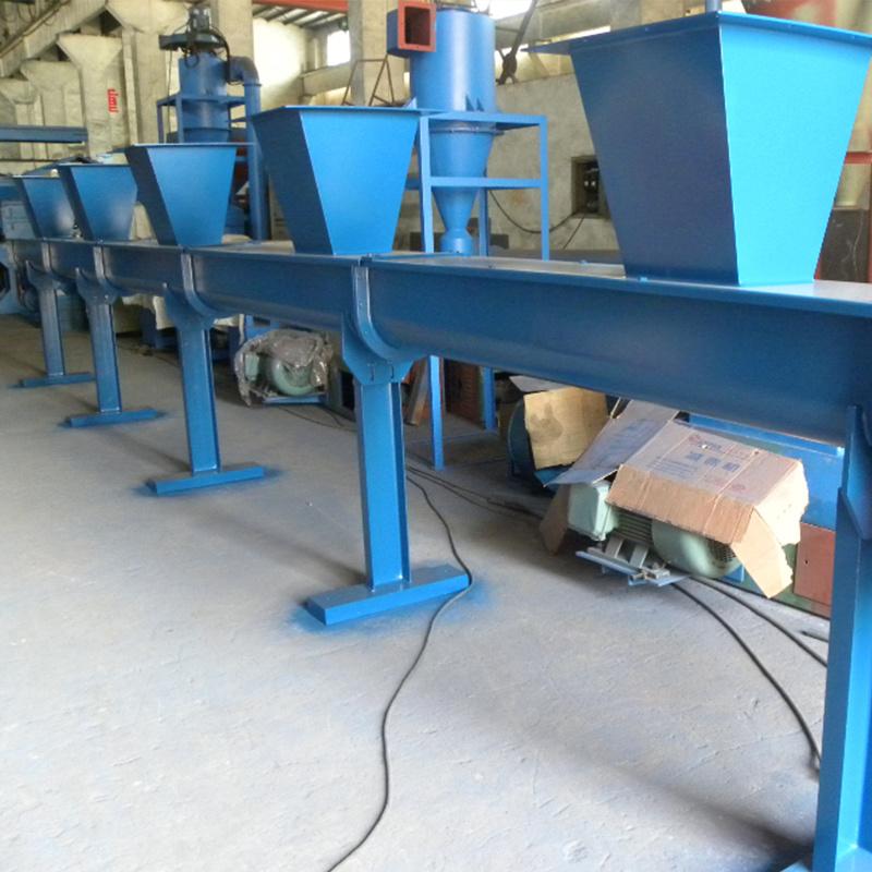 Small Rubber Powder Screw Conveyor