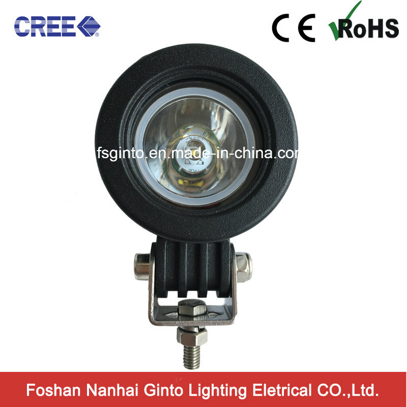 10W Spot/Flood LED Driving Work Light Motorcycle Parts