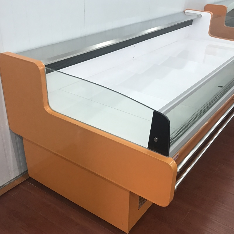 Open Top Fresh Meat Display Refrigerator
