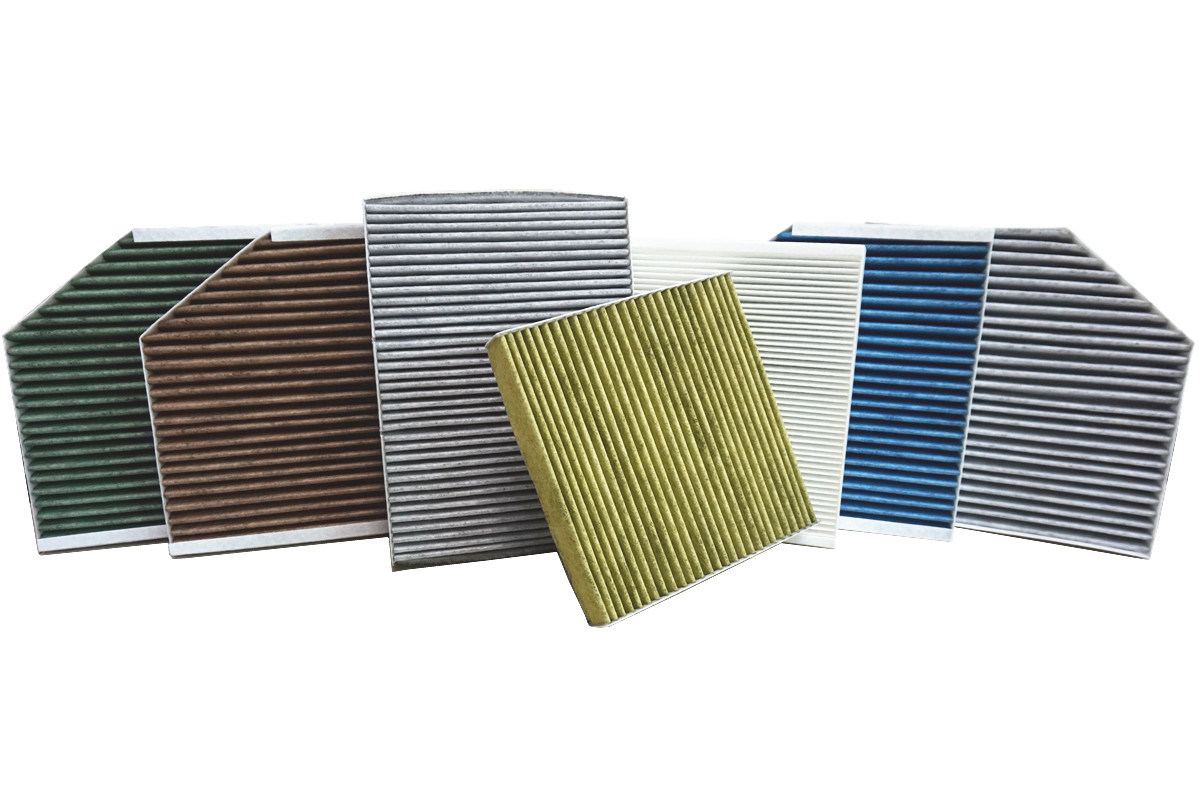 Filter Material for Activated Carbon Cabin Filter